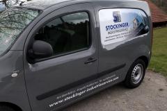Beschriftung Transporter -  Stockinger Industrieservice GmbH