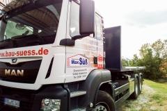 Beschriftung LKW - Max Süß Bau GmbH & Co. KG