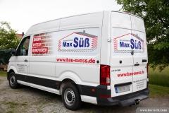 Beschriftung Transporter -  Max Süß Bau GmbH
