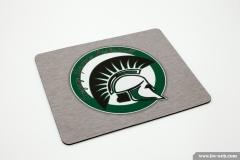 Mousepad bedruckt mit dem Logo der Freyung Spartans Basketball